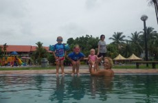 Nog genietend van de schoolvakantie: ff naar Maleisie voor Bas zijn verjaardag