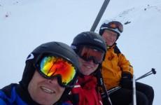 Skien met de mannen