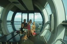 Ciska en Margriet op bezoek in Singapore