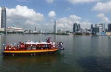 Sinterklaas in SIngapore 2014